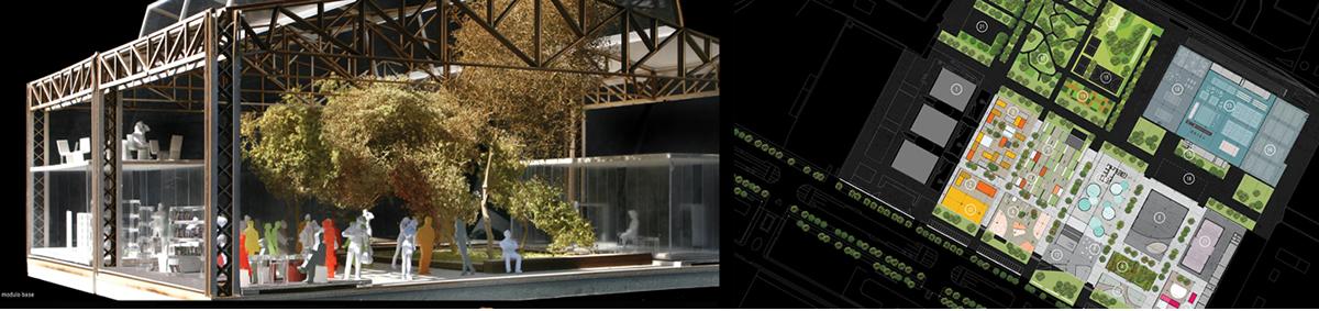7° classificato: Raggruppamento con capogruppo Mario Cucinella Architects s.r.l. di Bologna