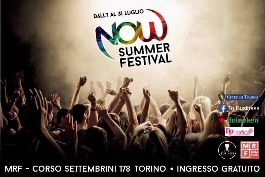 Torino NOW SUMMER FESTIVAL - Spazio MRFTorino NOW SUMMER FESTIVAL - Spazio MRF